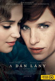 A dán lány (The Danish Girl) plakát