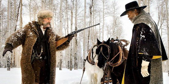 Aljas nyolcas (The Hateful Eight) Quentin Tarantino western filmje