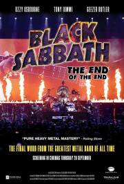 Black Sabbath the End of the End (2017) poszter
