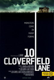 Cloverfield Lane 10 (2016) moziplakát