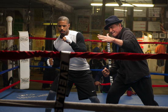 Creed - Apollo fia (2015) Michael B. Jordan, Sylvester Stallone