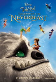 Csingiling és a Soharém legendája (Tinkerbell and the Legend of the NeverBeast) poszter