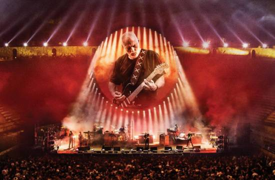 David Gilmour Live at Pompeii (2017) koncertfilm