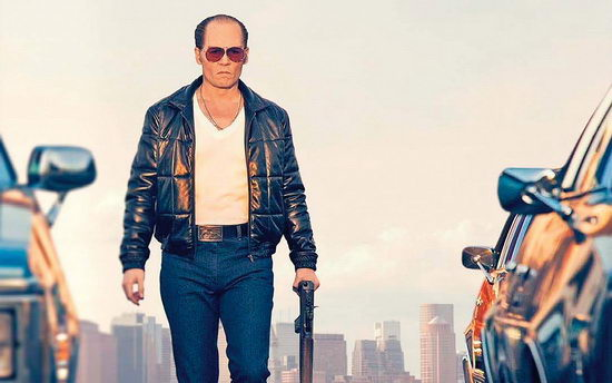 Fekete mise (Black Mass) Johnny Depp