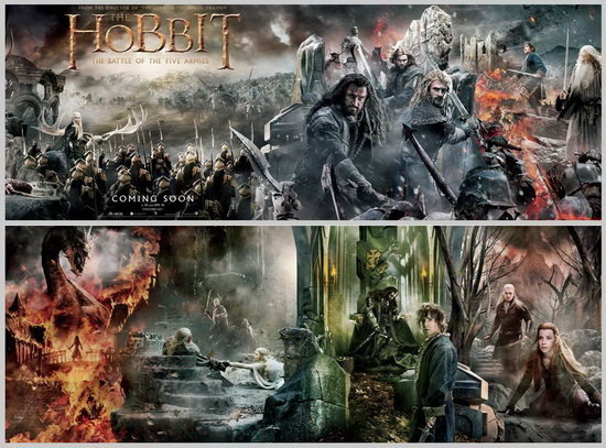 A hobbit: Az öt sereg csatája (The Hobbit: The Battle of the Five Armies)