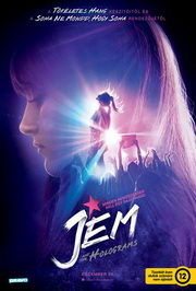 Jem and the Holograms (2015) magyar plakát