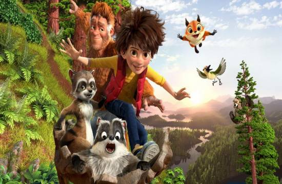 Óriásláb fia (The Son of Bigfoot) animációs film