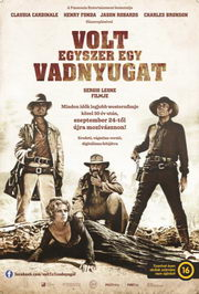 Volt egyszer egy Vadnyugat (Once Upon a Time in the West) magyar plakát