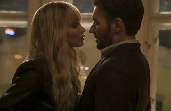 Vörös veréb (Red Sparrow) Jennifer Lawrence, Joel Edgerton