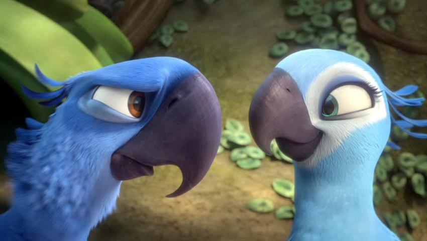 Жемчужинка и голубчик, мультфильм Рио без смс