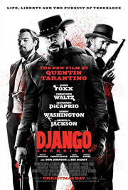 Django elszabadul (Django Unchained) - Movie poster