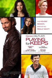 Kispályás szerelem (Playing for Keeps) - Movie poster