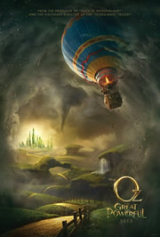 Óz, a hatalmas (Oz: The Great and Powerful) - Movie Poster