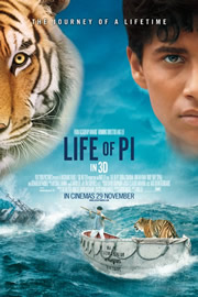 Pi élete (Life of Pi) - Movie poster