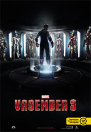 Vasember 3 (Iron Man 3) - Movie Poster