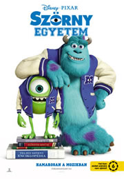 Szörny Egyetem (Monsters University) - Movie Poster