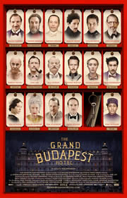 A Grand Budapest Hotel (The Grand Budapest Hotel) - poszter