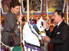 P.L. Travers, Walt Disney (Emma Thompson, Tom Hanks)