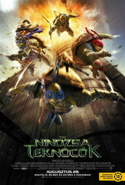Tini nindzsa teknőcök (Teenage Mutant Ninja Turtles, 2014) - poszter